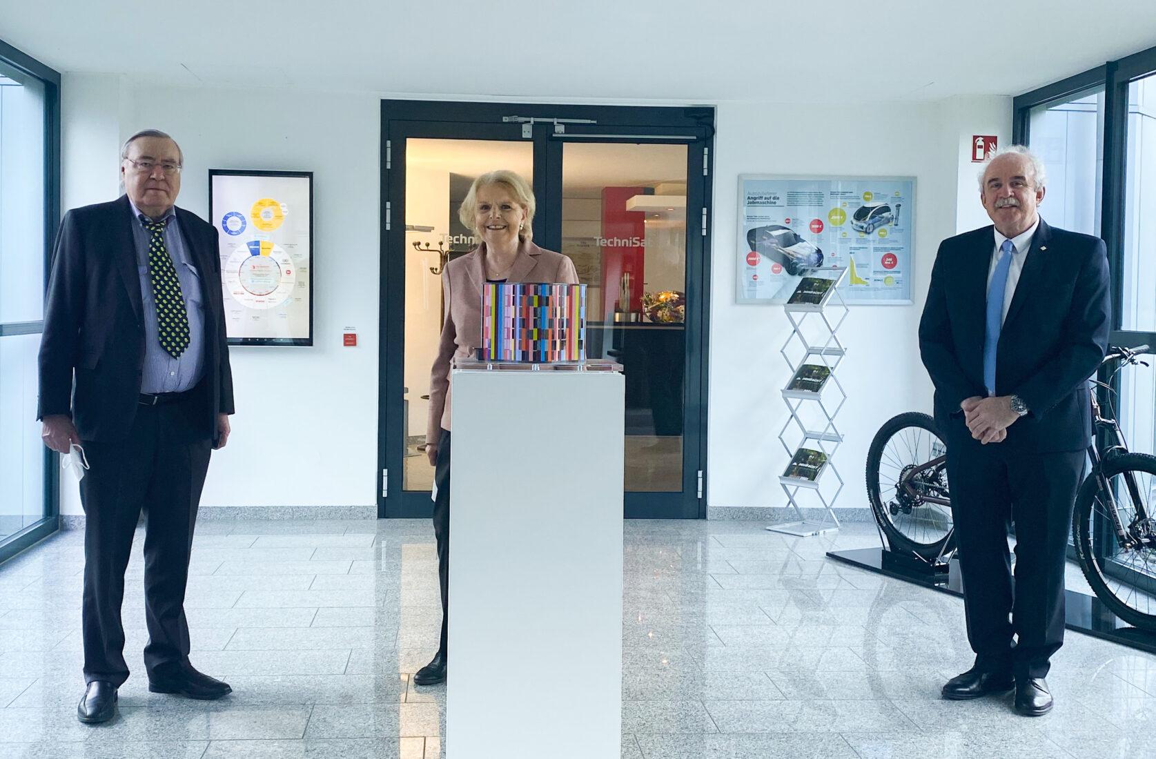 Bürgermeister Daun trifft Herrn Peter Lepper und Frau Lepper bezüglich der Junior Uni in Daun